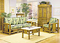 Bamboo Living Room Set